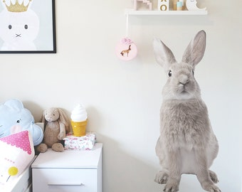 Hello Bunny Wall Decal