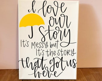 How I Met Your Mother Quote - HIMYM Quote - How I Met Your Mother Gifts - Quote Hall Hangings - Barney Stinson Quotes - Robin and Barney
