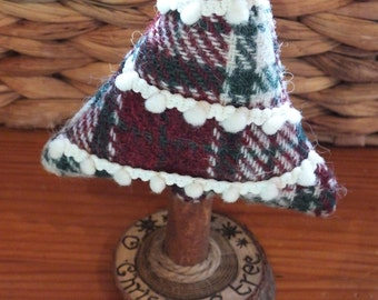 Harris Tweed Christmas tree, decorative tree, standing tree, Harris tweed decoration, festive tree, ornament, handmade decoration, trees,