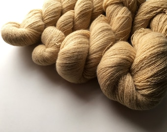 Reclaimed Lace Yarn - Cashmere - Buttery Tan