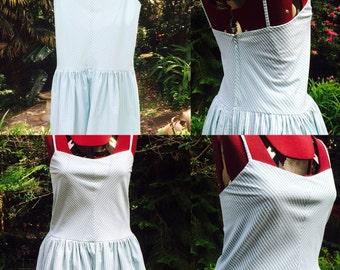 Hand made picnic dress size 10 - 12
