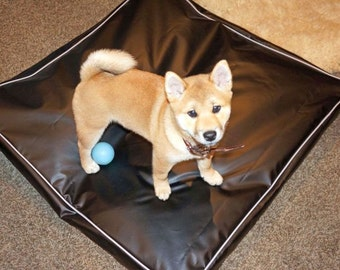 Dog Beds Replacement Cover 18 OZ High Tear Strenght 100% Waterproof Design Your Cover 16 Colors 36x36x4