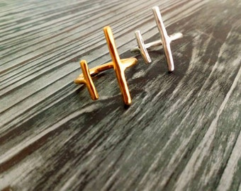 Handmade plated rings one size