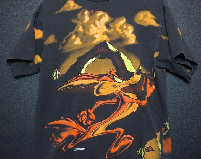 Wile E Coyote 1995 vintage Tshirt