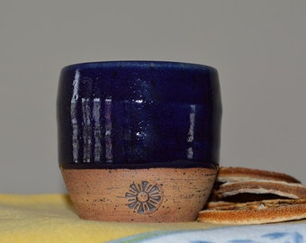wine cup, sake cup, whiskey cup, drinking cup, drinkware, blue cup, shot glass, tea cup, juice cup, espresso