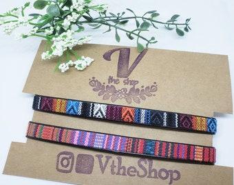 Set of Trival chokers, boho chokers, boho jewelry, boho necklace, bohemian
