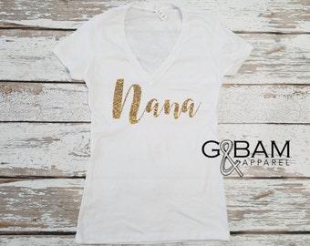 Nana Shirt / Grandma Shirt / You're going to be an Nana / You're going to be an Grandma / Pregnancy reveal / Family Pregnancy reveal