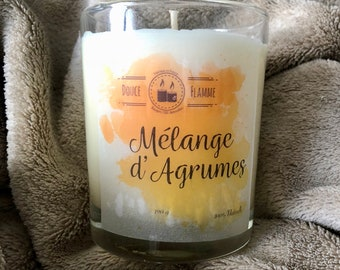 BLENDS of citrus scented candle