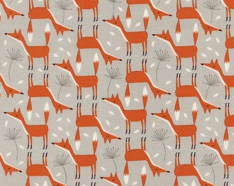 Patchwork Fox Timeless treasures fabric