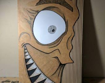 Cardboard Art / Wall Art - Norman