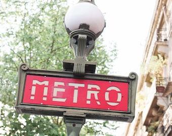 Paris Metro | Fine Art Photography | Parisian Art | Parisian Dogs | Photography in Paris | Paris Art Print | Metro | Metro Art | Paris Print