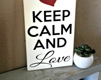 Custom Personalized Keep Calm Custom Keep Calm, Keep Calm,  Keep Calm Sign, Wooden Signs with Quotes, Keep Calm and Carry On
