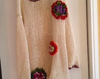 Pullover cotton creation Martine