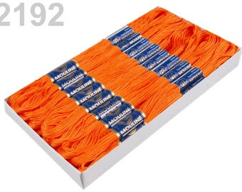 24 Docking Embroidery/stick twist #2192 Sun Orange
