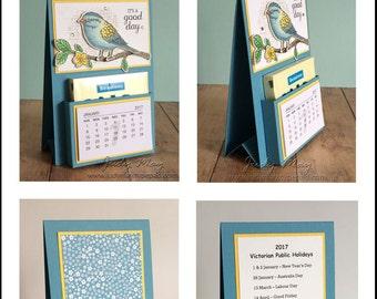 Craft Tutorial - Post-It Note Mini Calendar