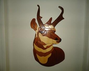 Antelope Intarsia