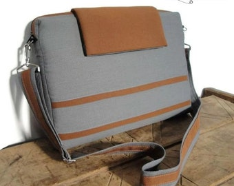 Customizable for Color Fabric and Sizes Laptop Bag -Messenger bag-Detachable STRAP-fully PADDED bag-Waterproof lining-exterior Large POCKET