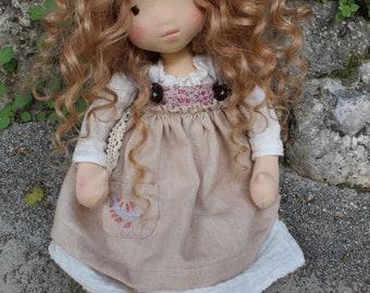 Waldorf Inspired Doll - 14 inches (35cm) - Emma