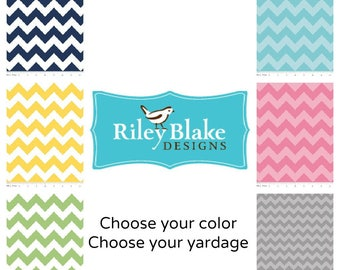 Riley Blake Chevron, Riley Blake,  ---1 yard--choose your color