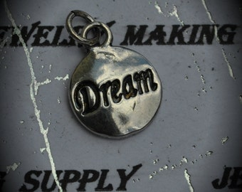 Dream Sterling Silver Plated Charm