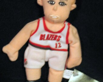 NBA Blazer Buddy Detlef Schrempf Plush Doll Limited Edition & Numbered