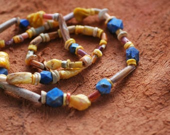 African  Beads Necklace Handcrafted from Ghana