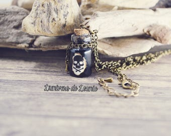Poison vial Potion necklace