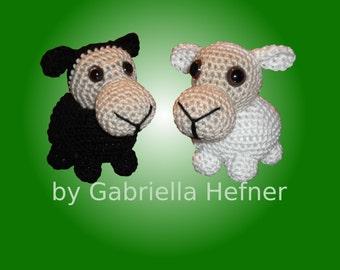 Amigurumi pattern mini Sheep