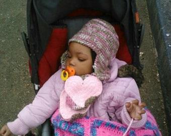 Toddler Hat, Scarf, Glove Set