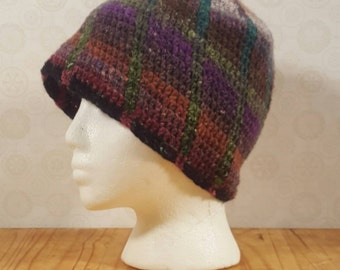 Men's / Women's Wool Spiral Beanie Adult Medium