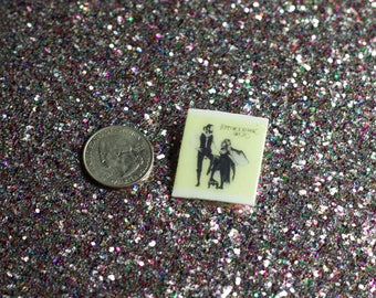 Fleetwood Mac // Rumours, Pin, Lapel Pin, Flair, Brooch, Shrink Plastic, Button, Handmade, DIY, Tiny, Album Cover, Stevie Nicks