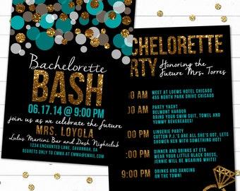 Bachelorette Party Invitation, Bachelorette Bash, Bachelorette Weekend, Hen Party, Bachelorette Invite, DIGITAL, Printable Invitation