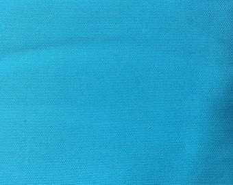"60"" Wide Turquoise Solid  Pique Fabric by Fabric Finders"