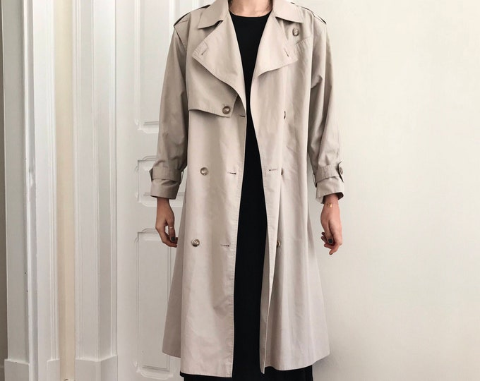 """90's Vintage """"Four Seasons of London"""" Trench Coat"""