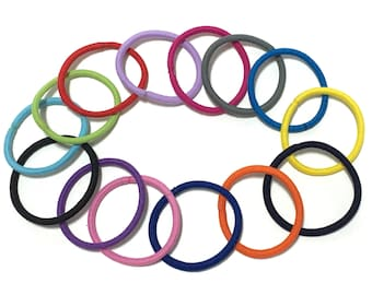 30 pcs Ponytail Hair Ties, DIY Hair Elastic Band, Ponytail Holders, Ponytail Elastic Band, Pigtail Holders