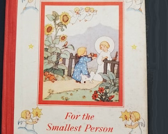 For The Smallest Person | First Edition 1932  | Vintage Catholic Children's Book | Catholic Books | Catholic Children