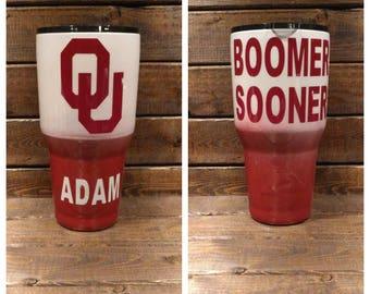 Oklahoma Sooners Tumbler