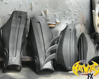 Batman Arkham Asylum Gauntlets and shin Guards Combo