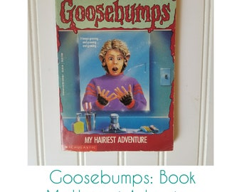 Goosebumps My Hairiest Adventure Book