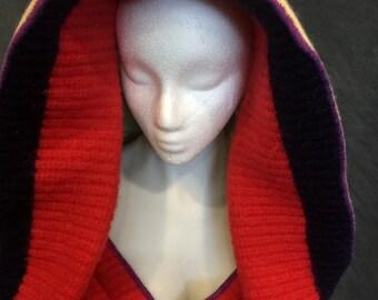 Big Hood Hoodie Pixie Elf Hoodie Sweater Hoodie Sweater Coat Bohemian Hoodie Bohemian Sweater Gypsy Coat Gypsy Sweater Bohemian Coat