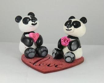 Polymer Clay Panda's
