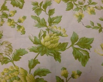 Ivory bouquet fabric in yellow and green flowers (3)