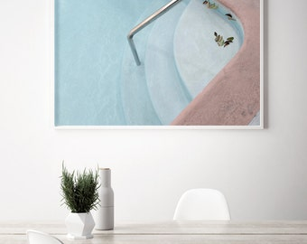 Mid Century Swimming Pool Photography Mid Century Wall Decor Fine art Photography by Lucy Snowe Hollywood pool