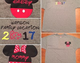 Disney Family Vacation Shirts