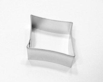 Diamond Rhombus. - 3.5 inch Metal Cookie Cutter