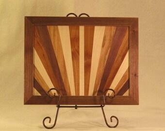 Sunburst Artistic Wooden Wall Art