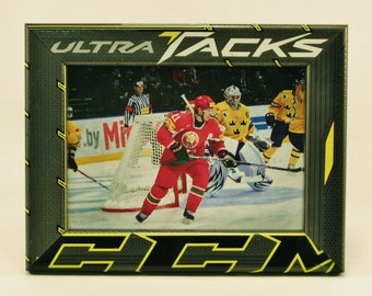 5 x 7 Hockey Stick Frame - FREE SHIPPING in US  (#6347)