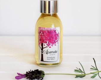 Reed Diffuser Refill. Reed Diffuser & Refill by Apamate Scents - 100 ml. Room diffuser refill with Rosemary and Eucalyptus Essential oils
