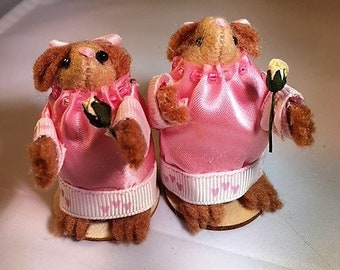 Cute hamster bridesmaid, gift idea, memoir, keepsake, thank you gift