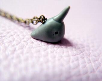 Narval Sea Unicorn Necklace